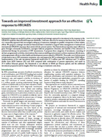 lancet - hiv investment approach - june '11